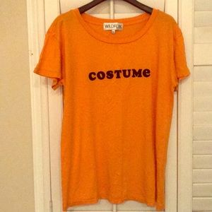 "Wildfox ""costume"" tee - sz M"
